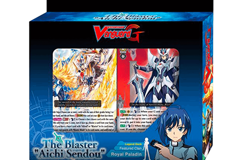 G-Legend Deck Vol.3: The Blaster - CardFight!! Vanguard