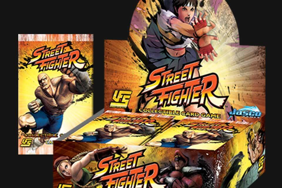 Street Fighter CCG - Universal Fighting System