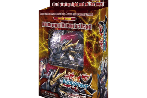 X-SD01: Demon Lord Dragon of Tempest - Future Card Buddyfight