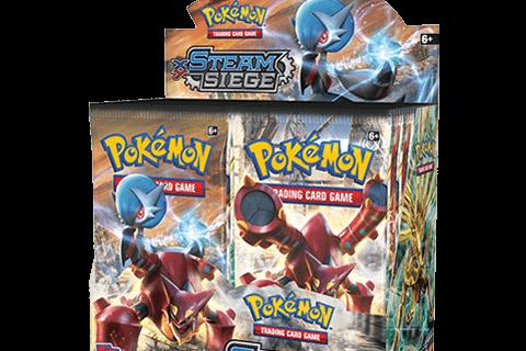 Steam Siege - Pokemon