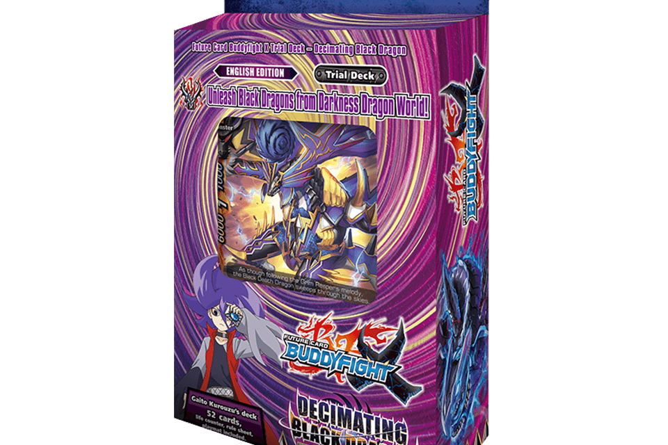 X-TD01: Decimating Black Dragon - Future Card Buddyfight