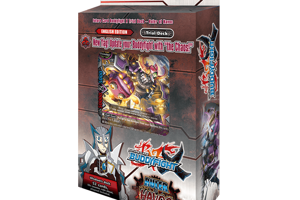 X-TD02: Ruler of Havoc - Future Card Buddyfight
