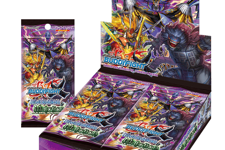 Evolution & Mutation - Future Card Buddyfight