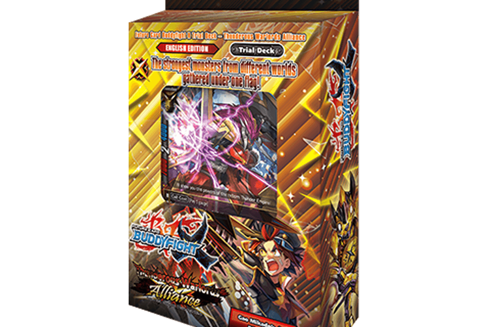 X-TD03: Thunderous Warlords Alliance - Future Card Buddyfight