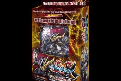 X-SD01: Demon Lord Dragon of Tempest - Future Card Buddyfight